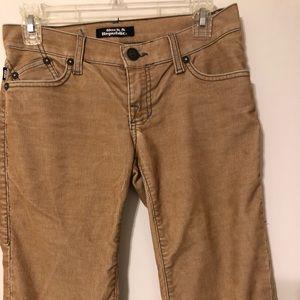 Rock & Republic Corduroy Pants w/ Blue Stitching!